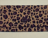 Leopard Print Business/Gift Card Pouch or Coin Purse