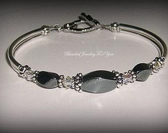 Bridesmaid Bracelet: wedding bracelet, bridesmaid jewelry, wedding jewelry, bridal party gift, mother if bride jewelry, bride jewelry sets