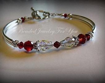 Bridesmaid Bracelet: wedding bracelet, birthstone jewelry, wedding jewelry, bridesmaid bracelet, mother of bride, bridal party gift, bride