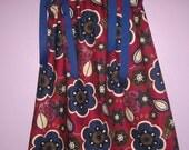 Buy 2 Dresses Get 1 FREE New Handmade Burgundy and Navy Blue Pillowcase Dress Size 6