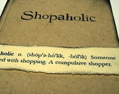 Shopaholic - Notebook