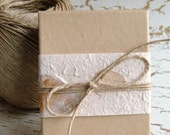 Oatmeal Jewelry Boxes - Set of 10