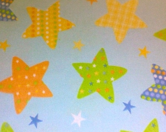 Sale....BLUE PATTERNED STARS Flannel pajama/Lounge pants.  Sizes 0-3 to 16...other sizes to 3X are available