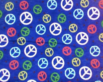 PEACE flannel pajama/Lounge pants.  Available in sizes  0-3 to 10.