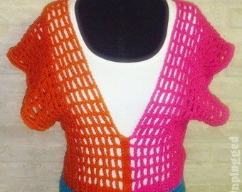 Wallflower Girl Color Block Sweater Vest - Tunic - Pullover - Cover up, etc