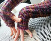 Knitting Pattern- baby cabled armwarmers