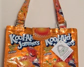 Koolaid Kool-Aid Juice Pouch Small Purse with HINGED handles CUSTOM MADE Free Shipping