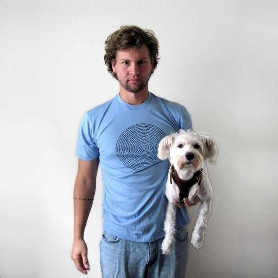 Collective Names of Animals - Mens Baby Blue Small  to X-Large