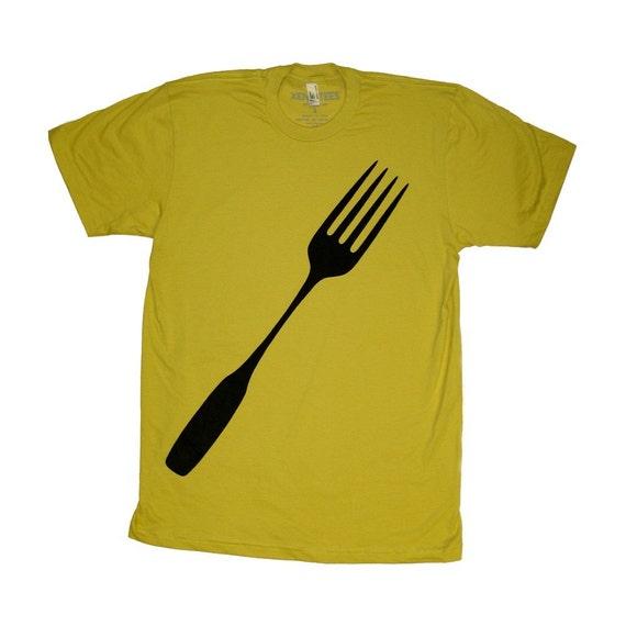 Organic Giant Fork Shirt in Dijon - Mens X-Large