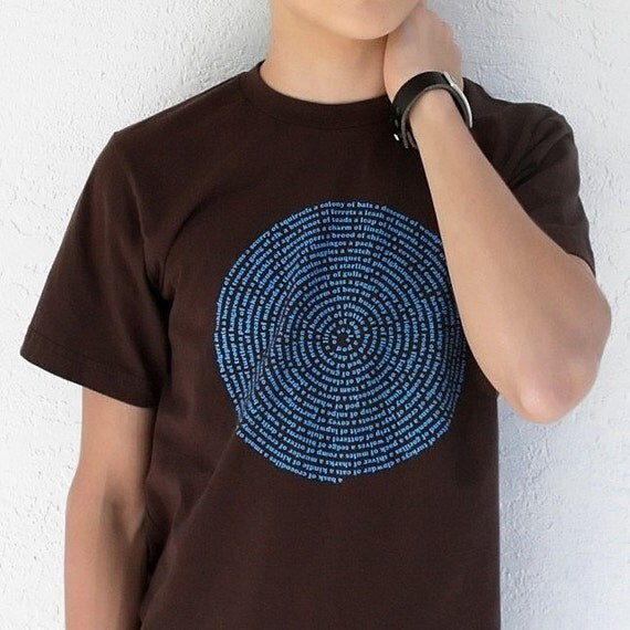 Collective Names of Animals - Mens Brown XS / Small / Large /  2XL