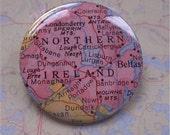 Northern Ireland - Wanderlust map pin