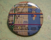 NYC Subway map pin