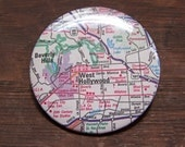 Hollywood map pin