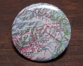 Yosemite National Park map pin