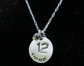 Sterling Silver District 12 Necklace