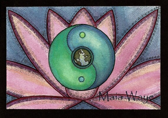 Holding the Earth in Harmony / Greeting Card