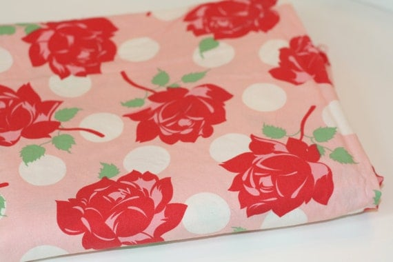 Swell by Urban Chicks for Moda Fabric Pink Rose Yard