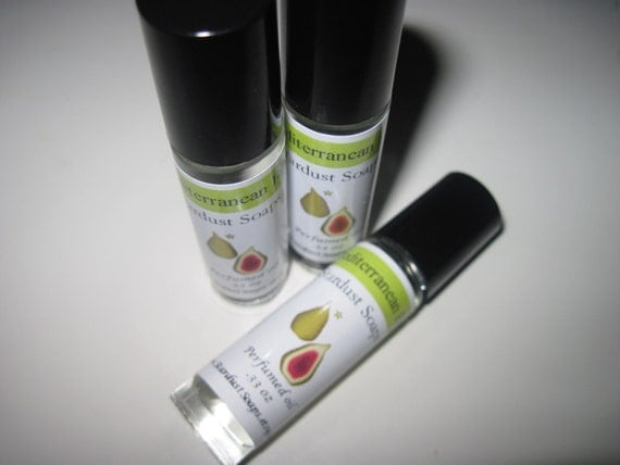 Mediterranean Fig,  Perfume Oil 10ml - (Glass & Roller Ball application)