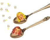Lovin' Spoonfuls. Original collage