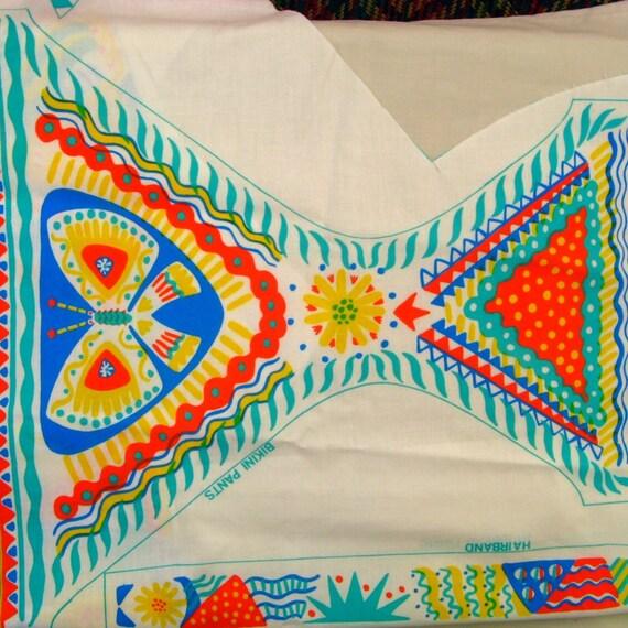 Designer Clothkits original vintage 1970s girl's bikini\/headband sewing kit, size 5-8