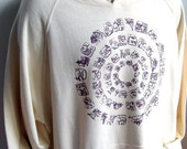 Cosmic circles hemp organic cotton hoodie