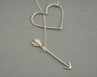 Silver Heartbreaker Necklace
