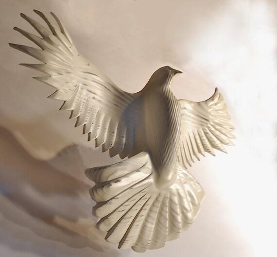 Peace Dove Ivory White