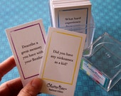 INSTANT DOWNLOAD - ChatterBox Conversation Game - Yearbook Edition Printable Set