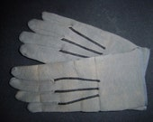 Antique Pair of Pall Bearer Gloves - Creepy- Strange - Macabre-Coffin- Funeral -Victorian Era FREE SHIPPING
