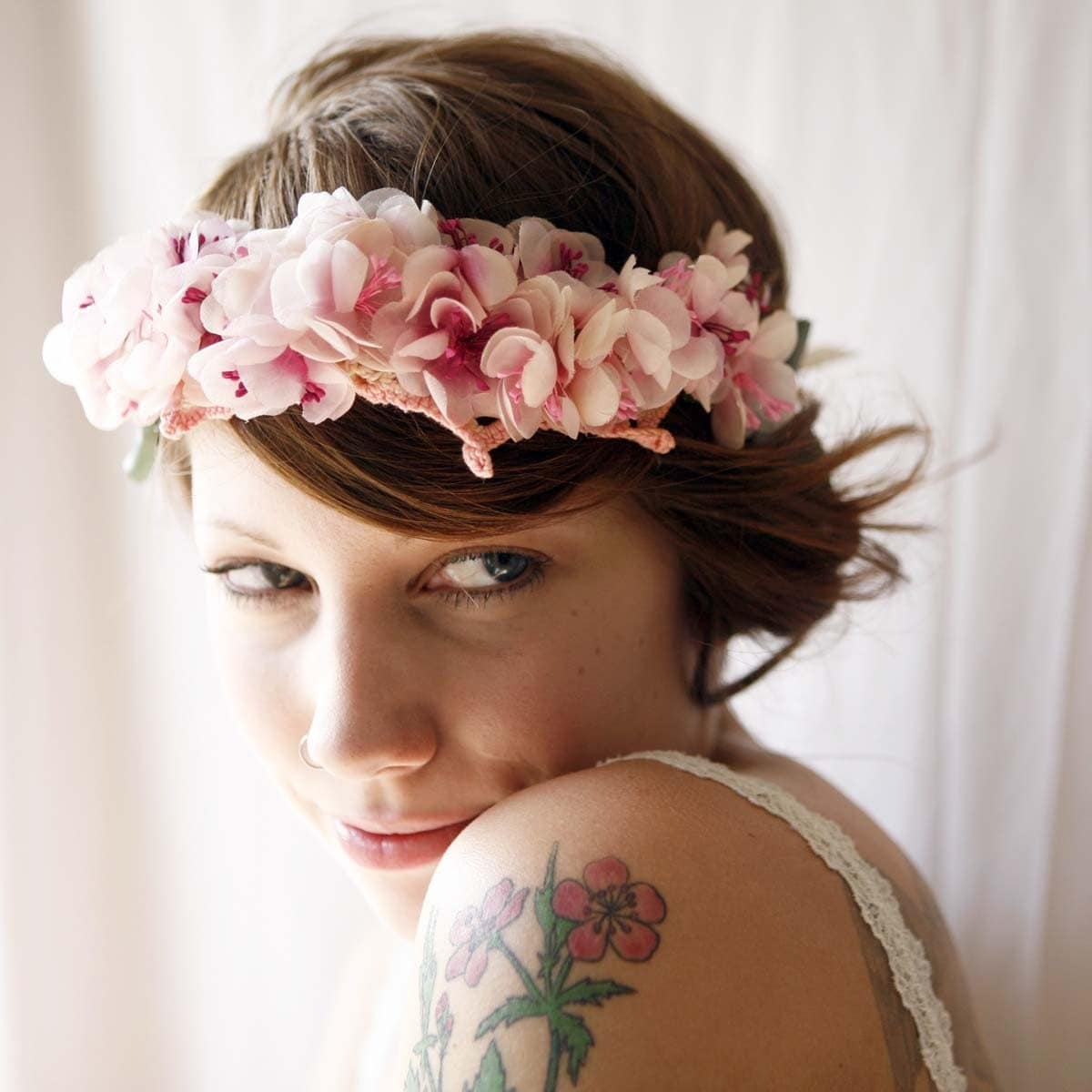Lilith Vintage Flower Tiara By Whichgoose On Etsy