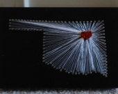 OKLAHOMA 3D String Art