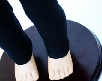Fits American Girl Doll - Doll Clothes - Long Leggings in Black - Made To Order
