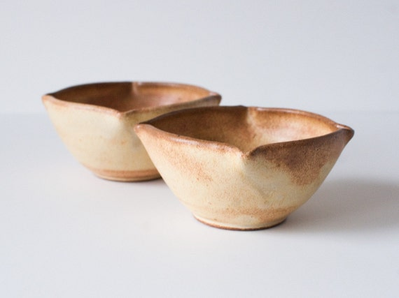 Set of 2 Bowls, Toasted Yellow, Stoneware