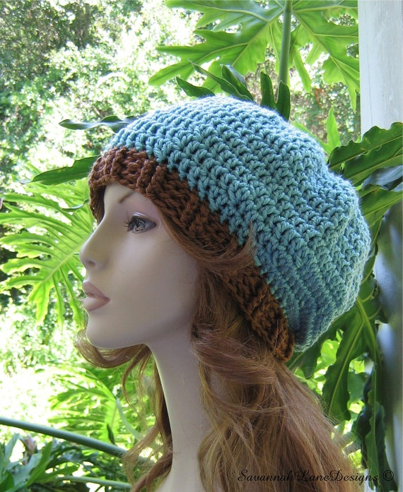 SEAFOAM - TOAST Slouchy Hat  ...  Ready-to-Ship