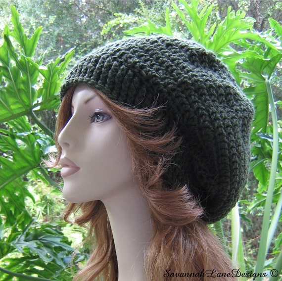 SALE  ...  DARK OLIVE Slouchy  ...   Crocheted  ...  Ribbed Brim  ...  Ready-to-Ship