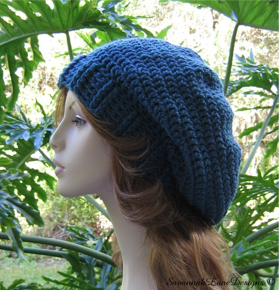 ANTIQUE TEAL       ..........       Ribbed Brim SLOUCHY
