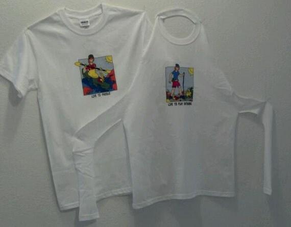 No Sew T-Shirt Apron Pattern