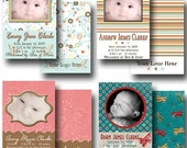 Boutique Birth Announcement Templates for Professional Use