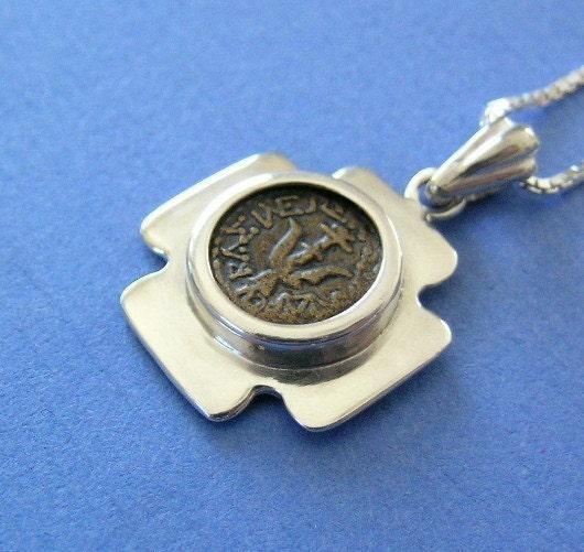 widows mite coin replica