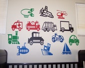 Transportation Vehicles Set of 3