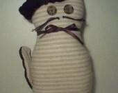 Maurice-Striped Plush Kitty Cat