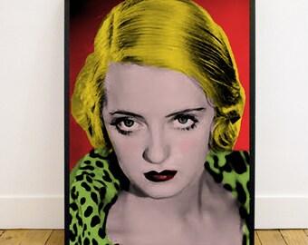 Giclée Art Print A3 Bette Davis