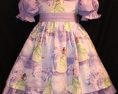 DISNEY Tiana PRINCESS and the FROG Dress