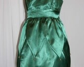 STUNNING Satin TINKERBELL Costume CUSTOM Child Size