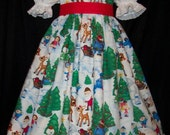 VHTF RUDOLPH Misfit Toys Christmas Dress CUSTOM Size