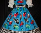 Disney CARS Dress CUSTOM SIZE Daisy Kingdom