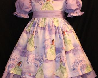 DISNEY Tiana PRINCESS and the FROG Dress