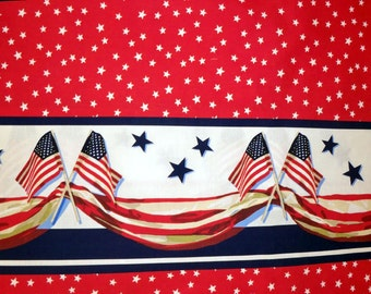 Patriotic Flag Border Sun Jumper Custom Size