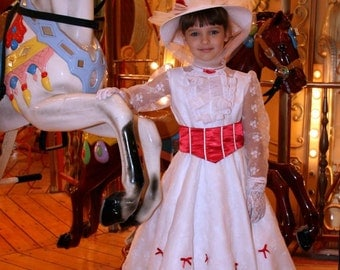 Mary Poppins Jolly Holiday Costume Dress Set