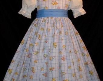 EASTER Chicks & Bunnies Dress CUSTOM SIZE